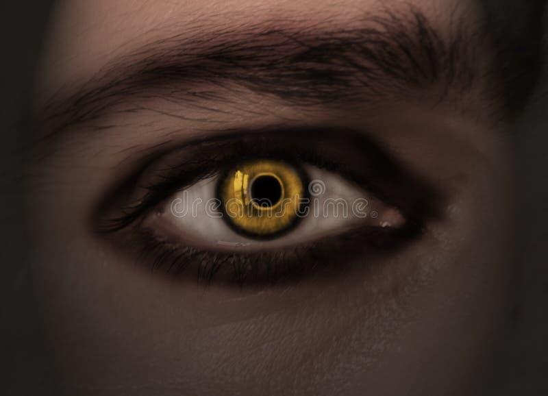 глаз s дьявола стоковая фотография