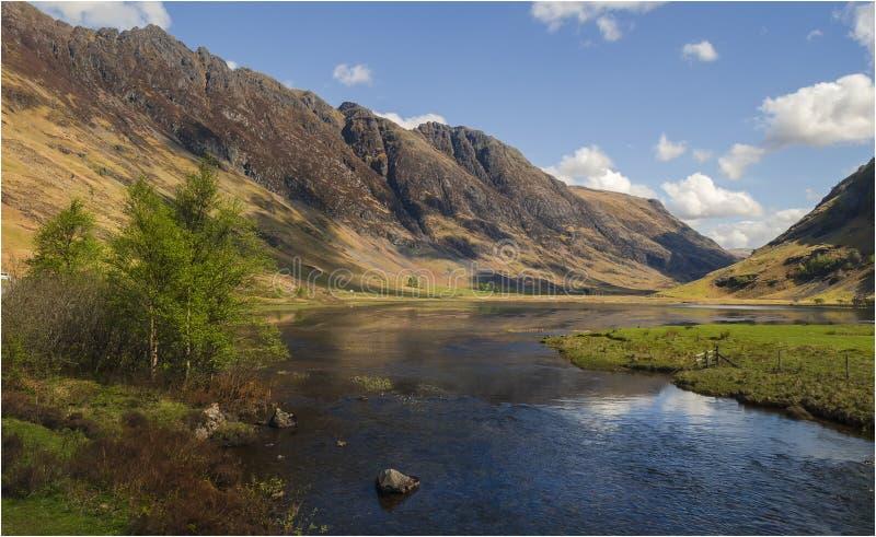 Глен Coe - Шотландия стоковые фотографии rf