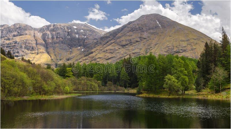 Глен Coe - Шотландия стоковое фото rf