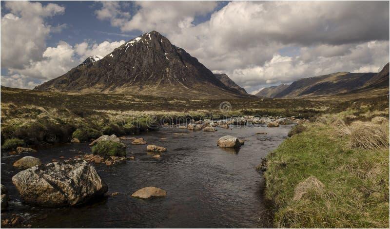 Глен Coe - Шотландия стоковое изображение