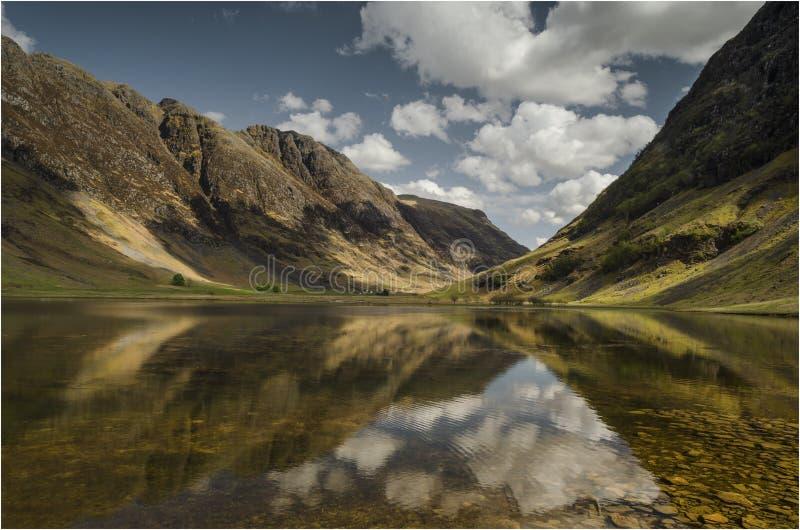 Глен Coe - Шотландия стоковые изображения rf