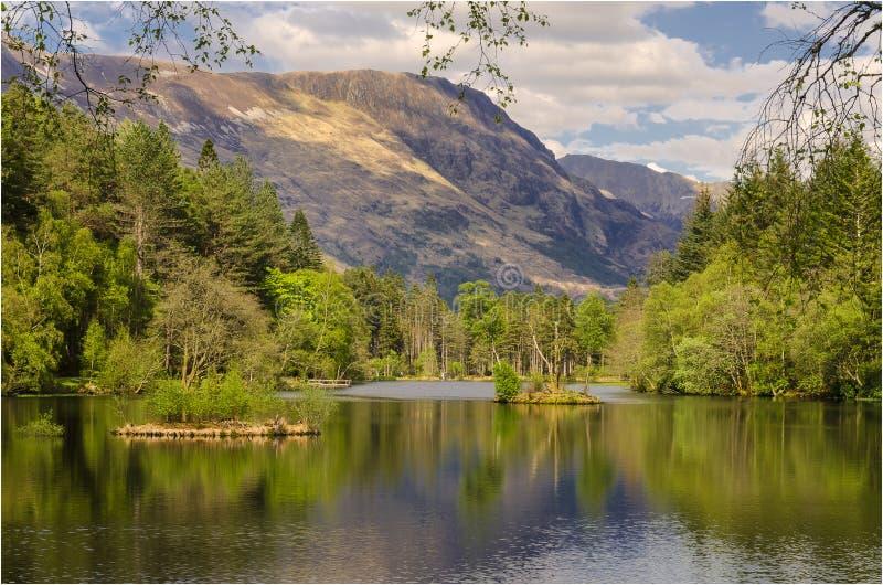 Глен Coe - Шотландия стоковая фотография rf