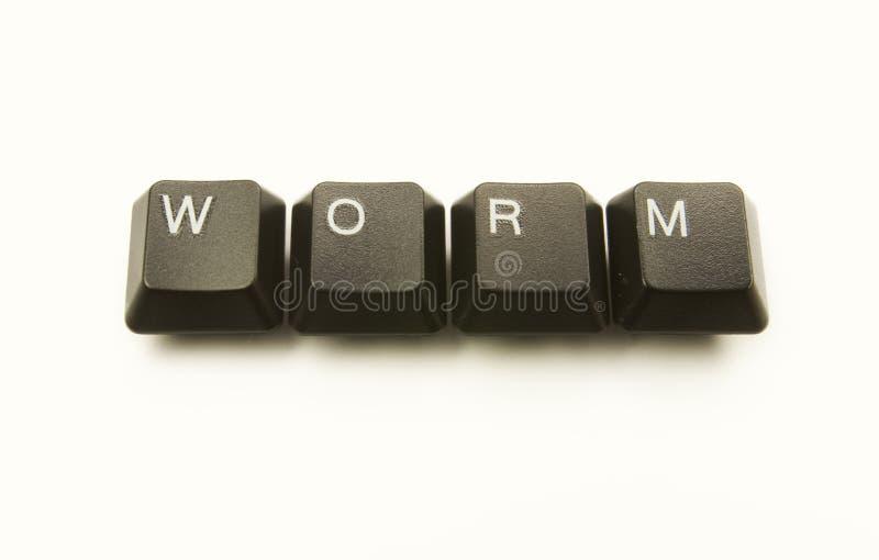 глист клавиш на клавиатуре стоковое фото rf
