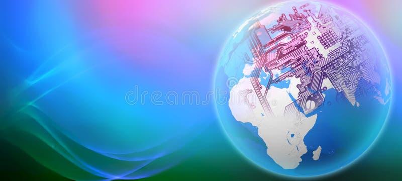 Глобализация мира иллюстрация штока
