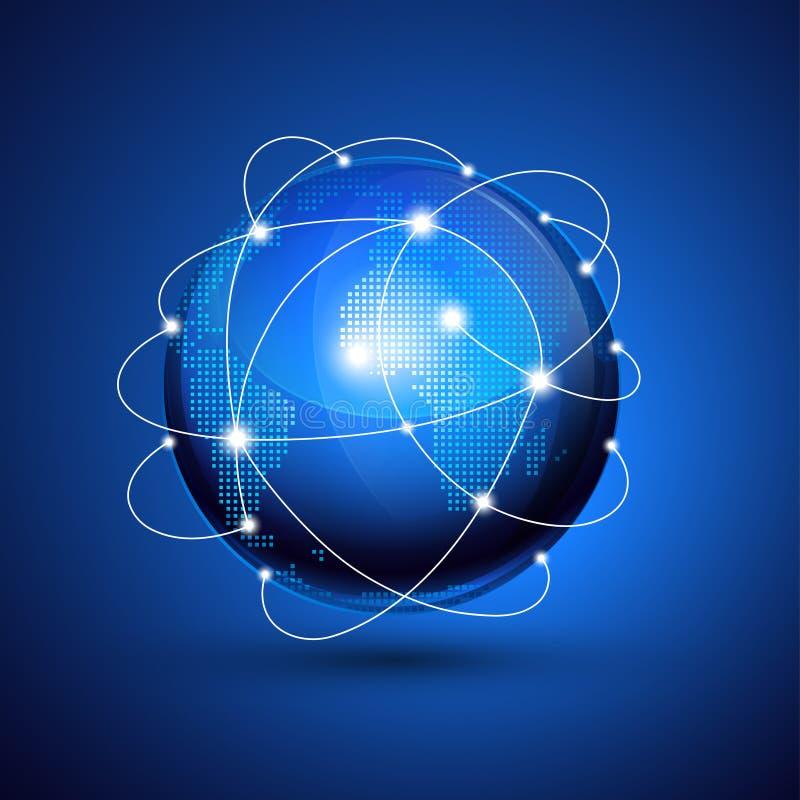 Глобус мира. бесплатная иллюстрация