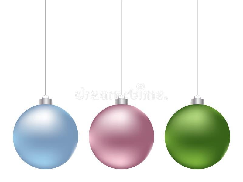 глобус рождества просто иллюстрация штока