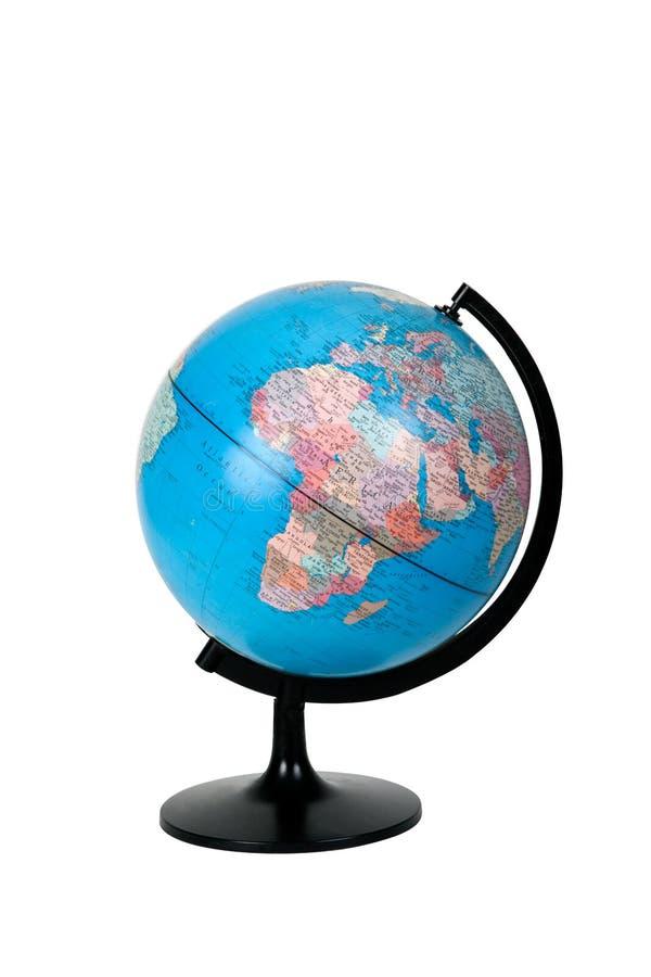 глобус старый стоковая фотография