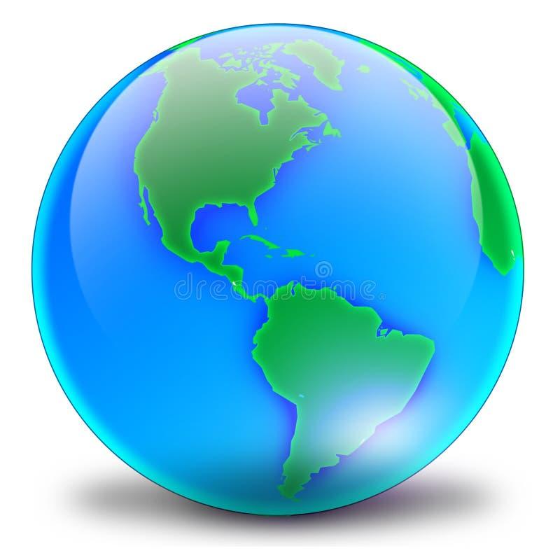 глобус 02 стоковое изображение