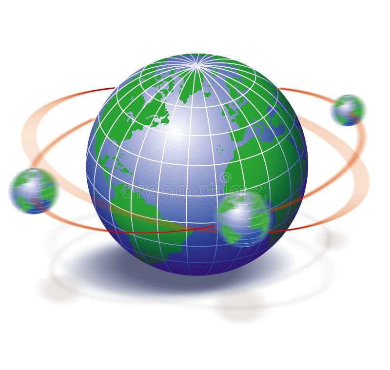 глобус иллюстрация штока