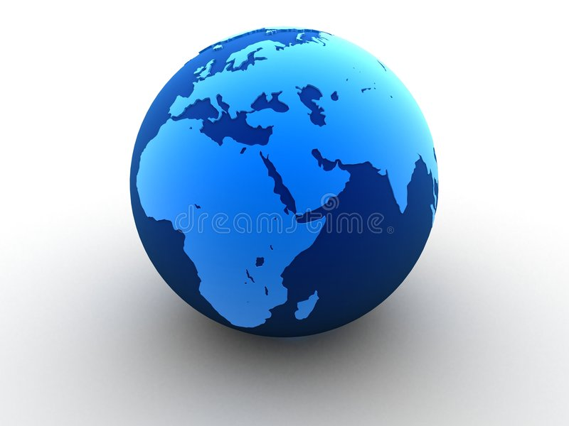 глобус 3d бесплатная иллюстрация