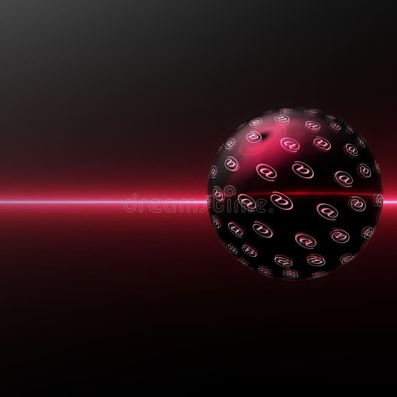 гловальный интернет иллюстрация штока