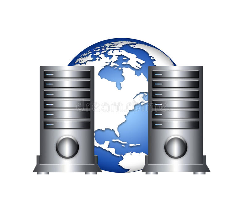 гловальный сервер бесплатная иллюстрация