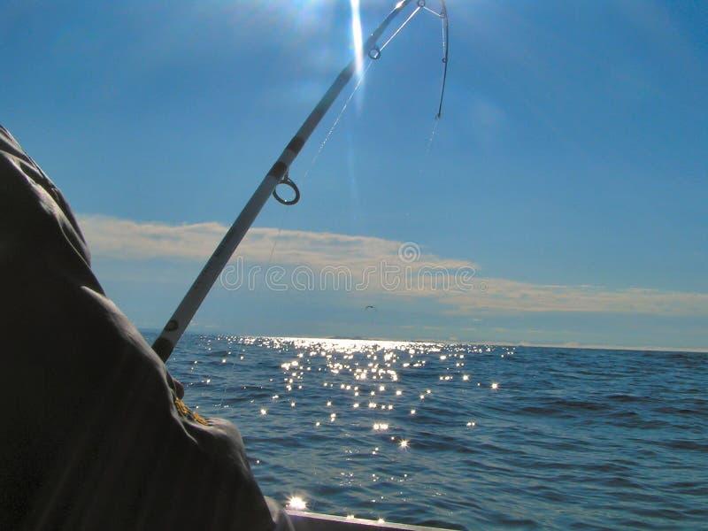 глубокое море рыболовства 2 стоковые изображения