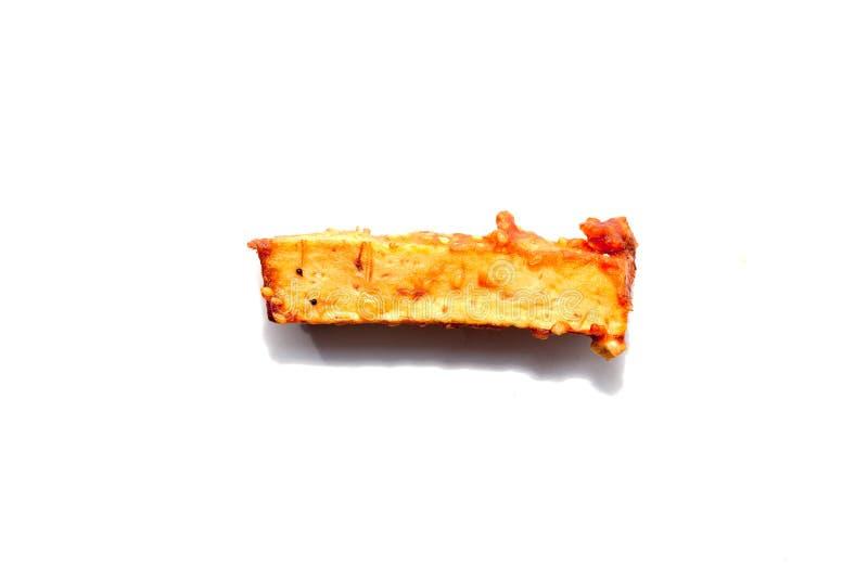 Глубоко зажаренное отрезанное таро стоковые изображения