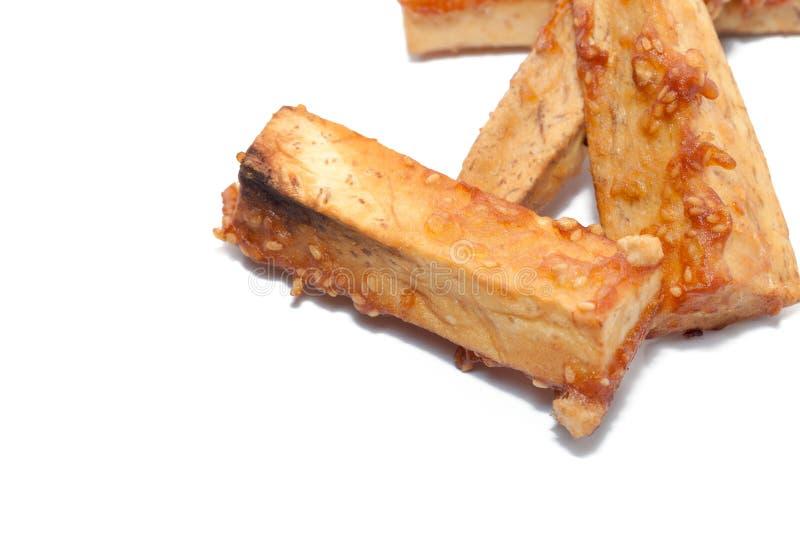 Глубоко зажаренное отрезанное таро стоковое фото rf
