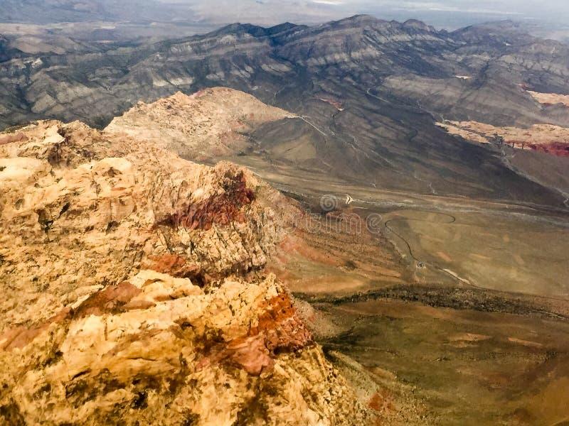 Глушь горы радуги стоковые фотографии rf