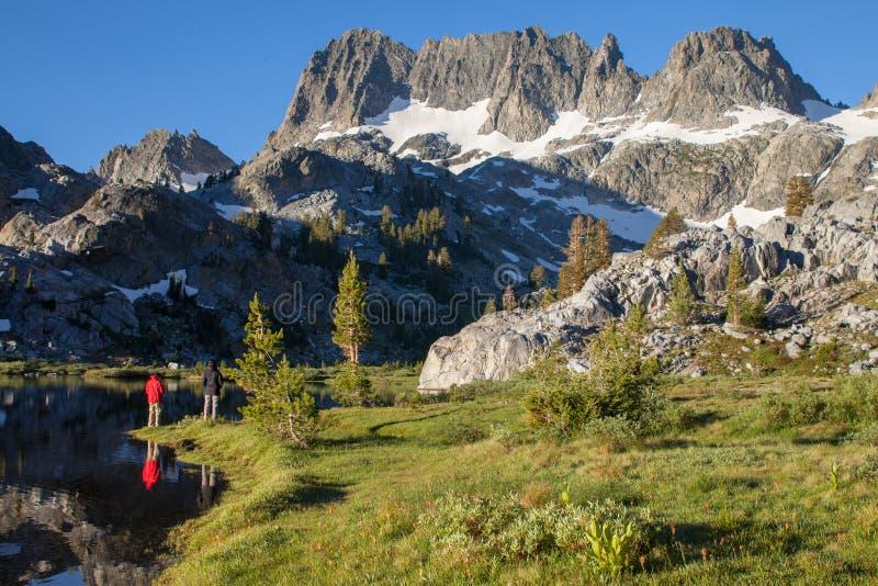 Глушь Ansel Адамса в восточных Sierras стоковое изображение rf