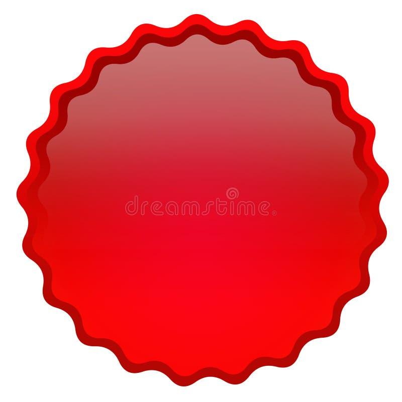 глянцеватое иконы красное иллюстрация штока