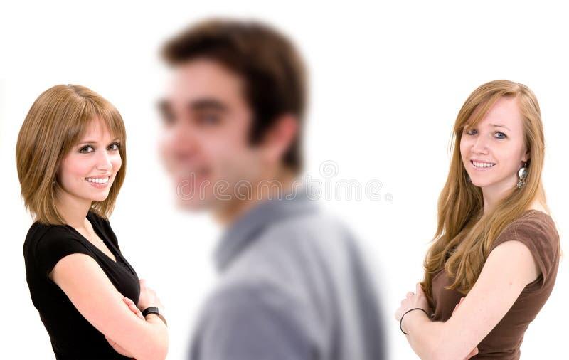 гнать влюбленность стоковое изображение rf