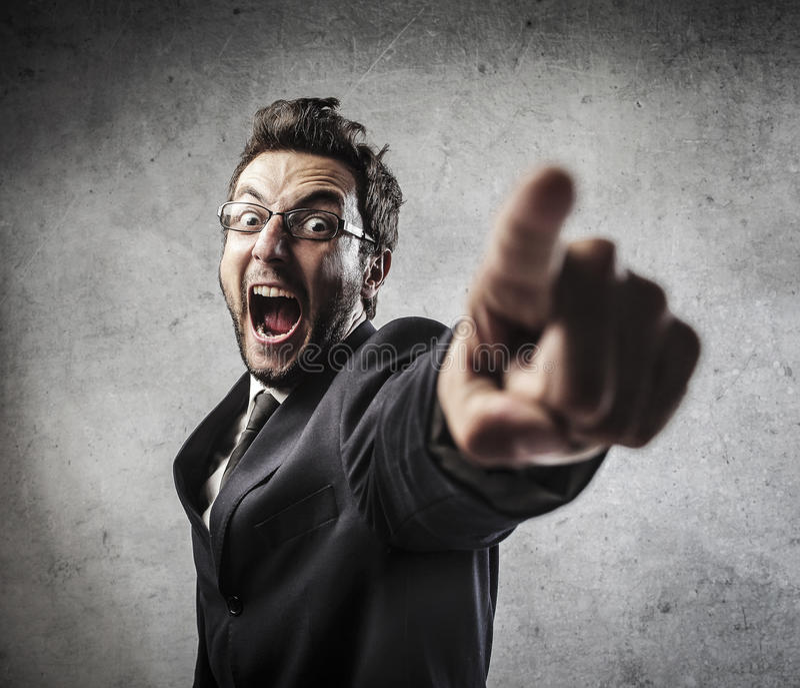Гнев стоковые изображения rf