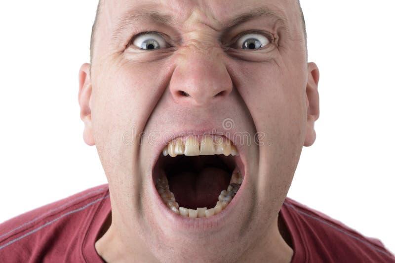 Гнев стоковое изображение