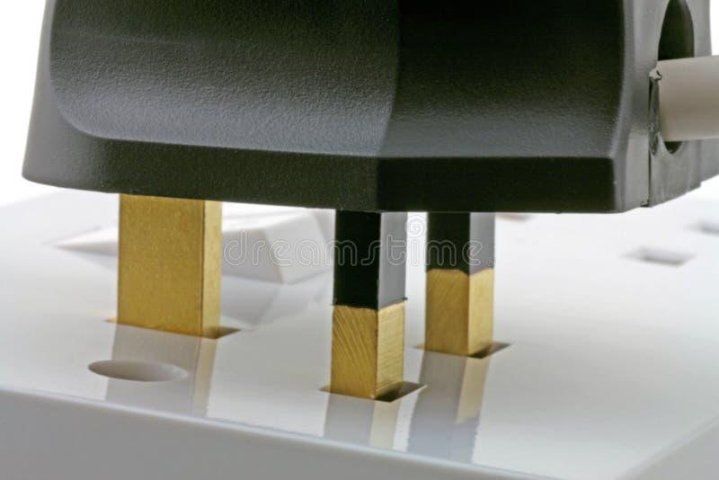 гнездо штепсельной вилки 3d стоковая фотография rf