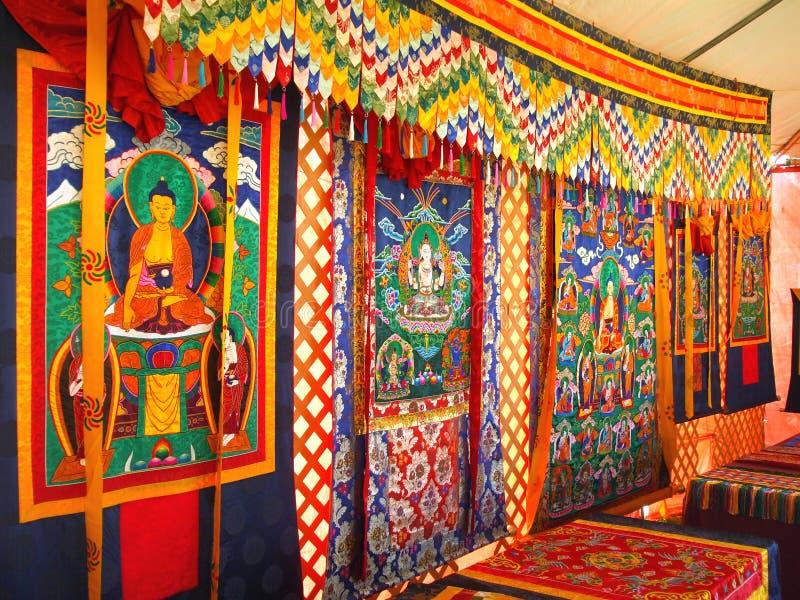 гобелен bhutanese стоковые фотографии rf