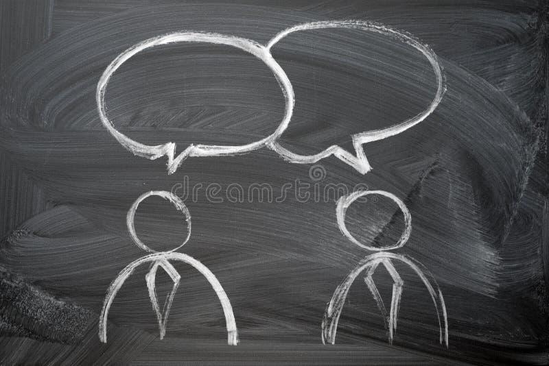Говорить людей стоковое фото rf