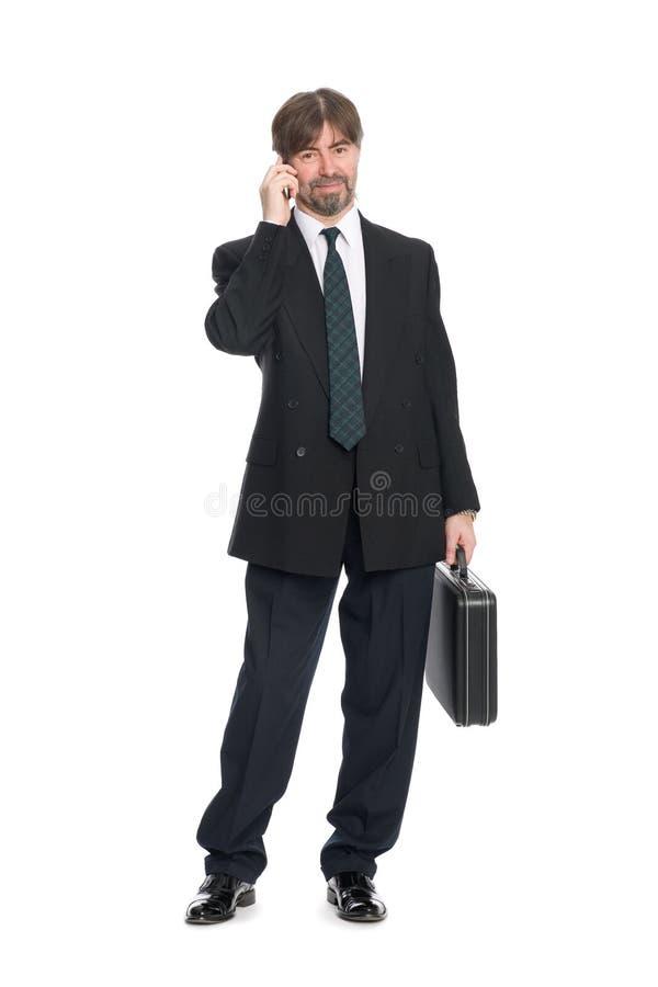 Download говорить черни бизнесмена стоковое изображение. изображение насчитывающей возмужало - 17604251
