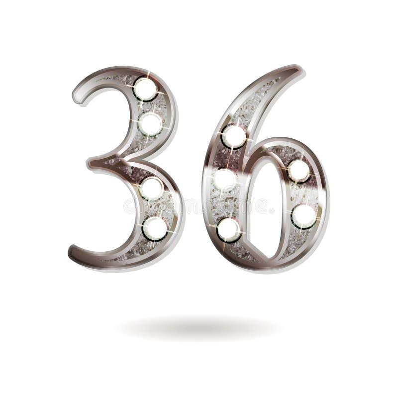 Открытка с днем свадьбы 36 лет