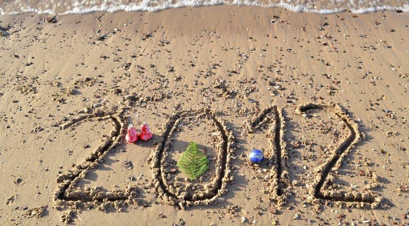 год Израиля eilat 2012 пляжей стоковая фотография