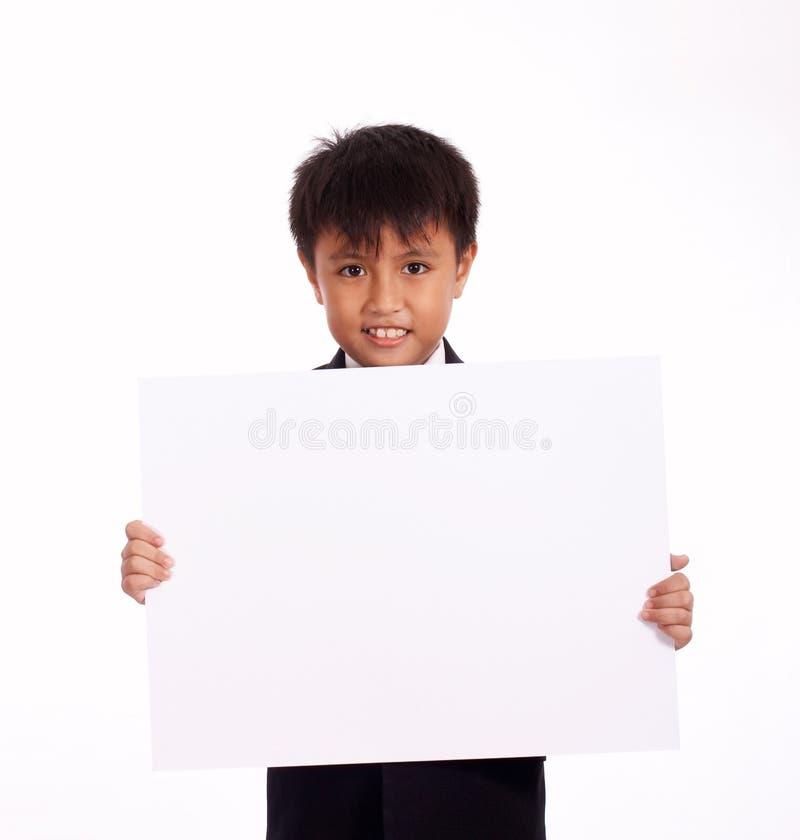 год мальчика 9 старый стоковая фотография rf