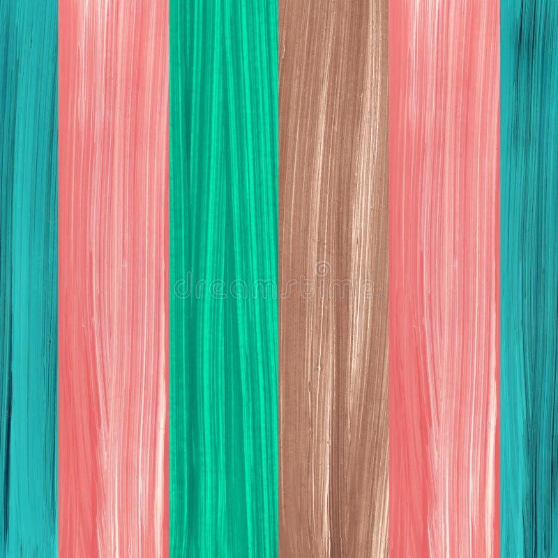 Год сбора винограда голубого розового коричневого цвета нашивок доски предпосылки покрашенный обоями внутренний scrapbooking стоковое фото rf