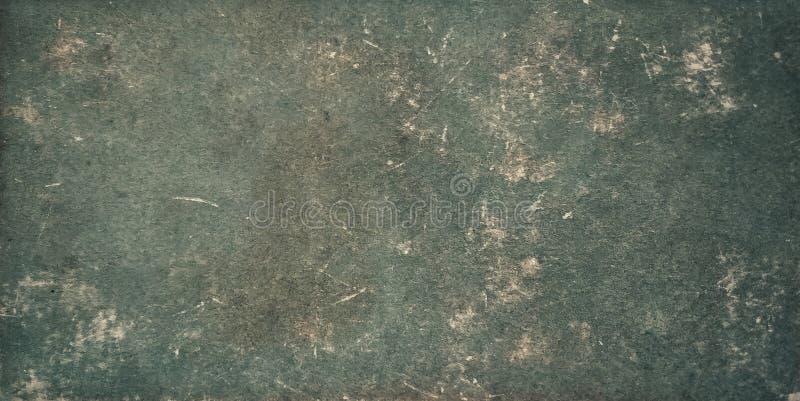 Год сбора винограда увял старая текстура предпосылки зеленой книги стоковые фото