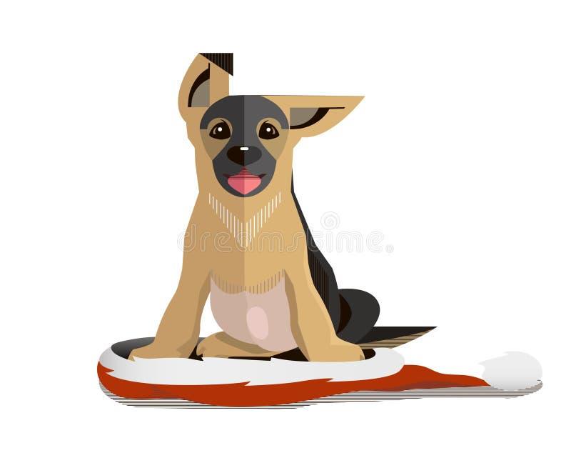 Год собаки бесплатная иллюстрация
