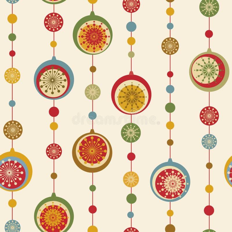год nad рождества предпосылки новый безшовный иллюстрация штока