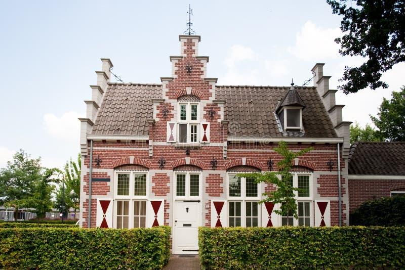 голландская дом старая стоковое изображение rf