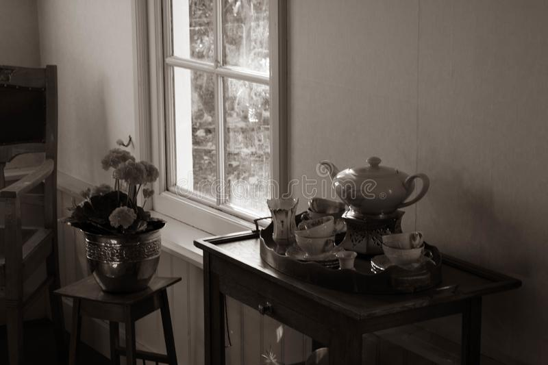 голландская дом старая стоковая фотография
