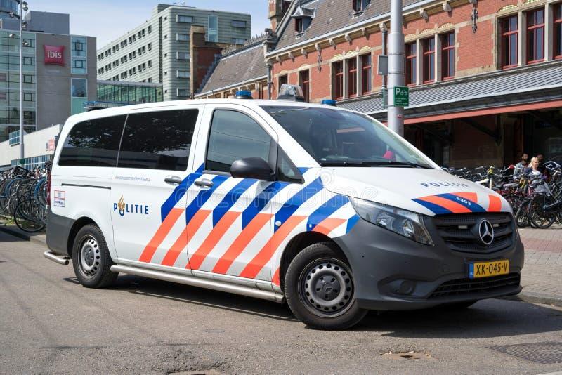 Голландская полиция стоковые изображения