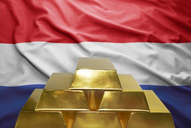 Голландские золотые резервы стоковое фото