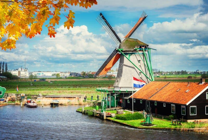 Голландские станы ветра стоковые изображения rf