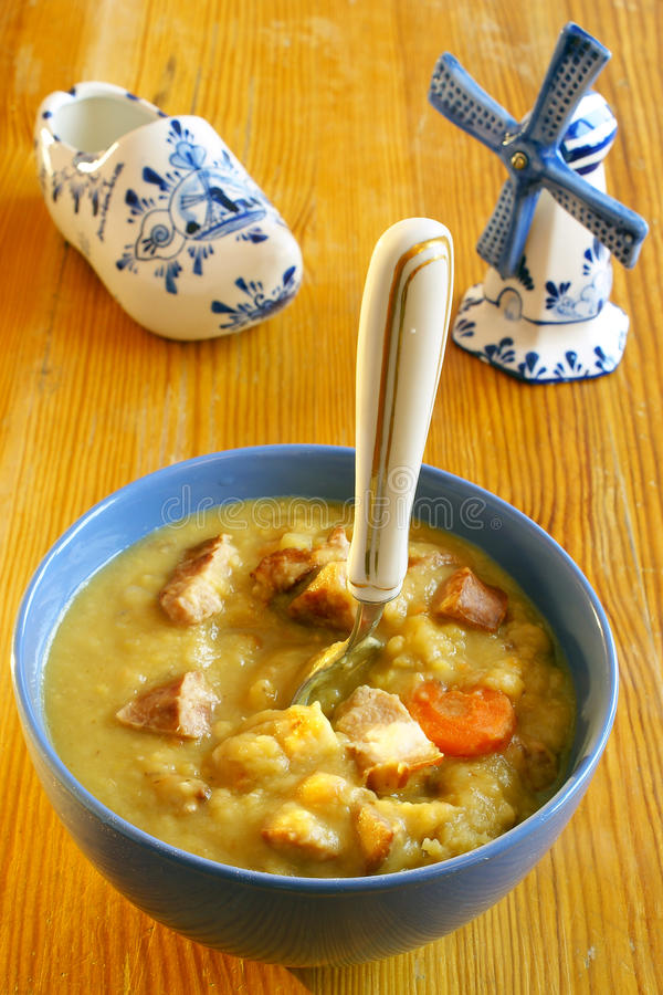 голландский суп гороха стоковое изображение rf