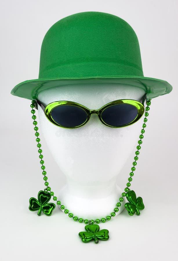 Голова манекена дня ` s St. Patrick стоковое фото