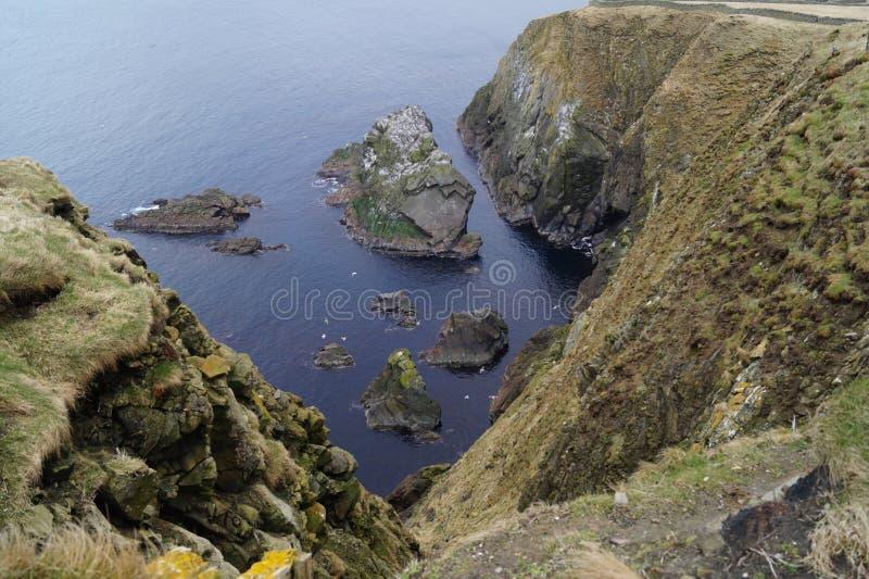 Голова Шотландия Sumburgh стоковая фотография rf