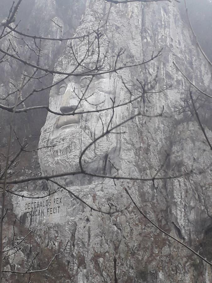 Голова Decebal стоковые фото