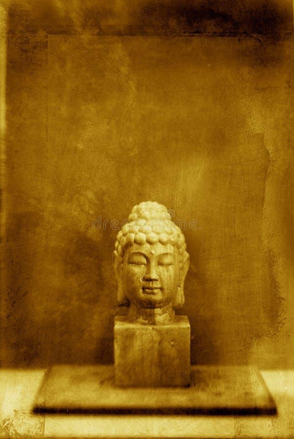 головка Будды стоковая фотография