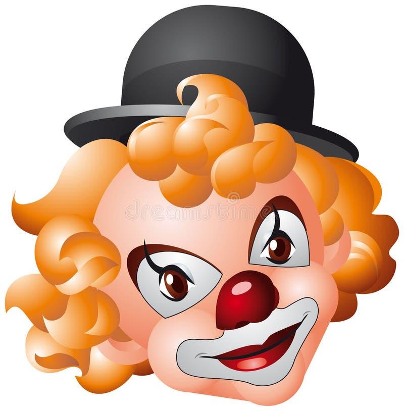 головка клоуна бесплатная иллюстрация