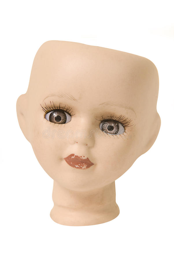 Головка куклы стоковое фото rf