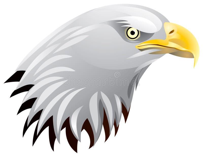 головка орла иллюстрация вектора