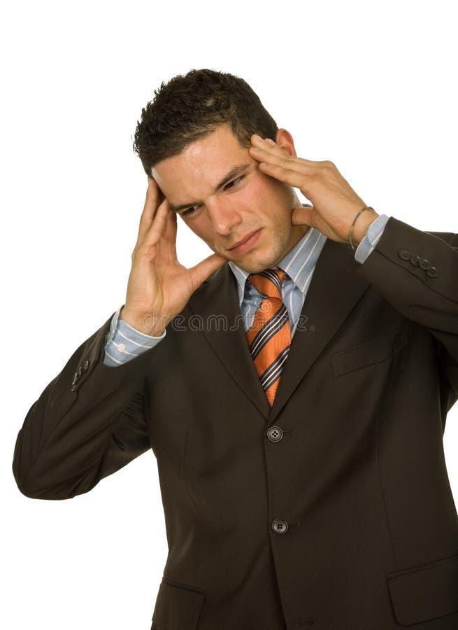 Download головная боль стоковое изображение. изображение насчитывающей дело - 6866789